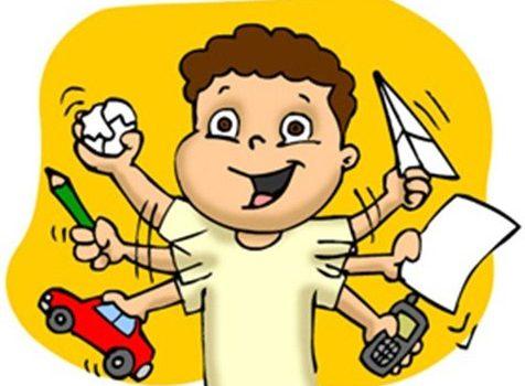 Гіперактивна дитина: приборкання норовливого